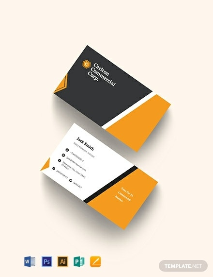 commercial real estate property business card template 440x570 1