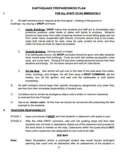 comprehensive school safety plan example