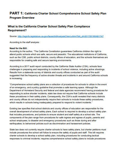 comprehensive school safety plan in pdf