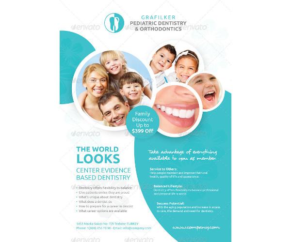 creative dentist flyer