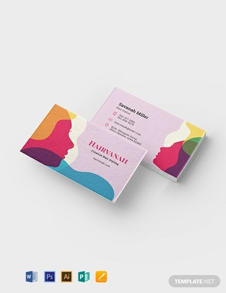 creative salon business card template 440x570 1
