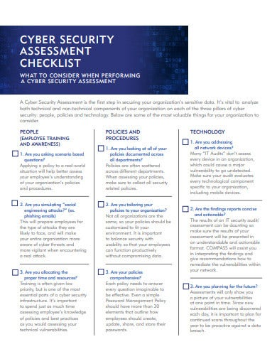 cyber-security-assessment-checklist