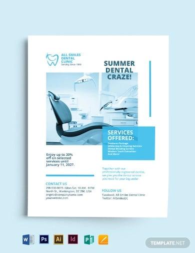 dental-clinic-flyer-template