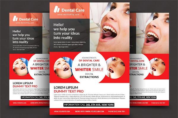 dentist flyer design