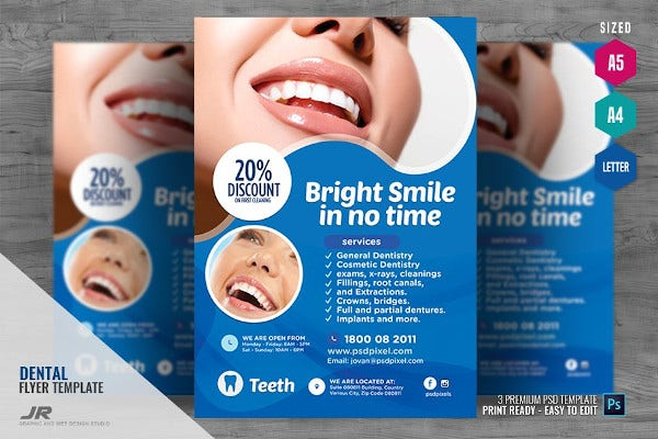 dentist-service-flyer-template