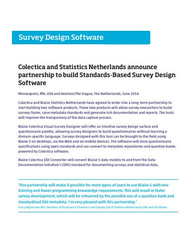 design software survey