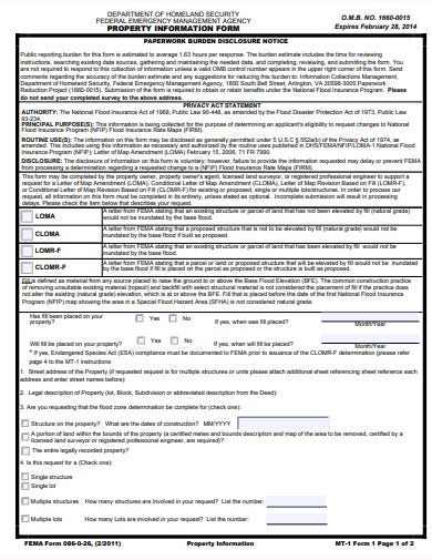 emergency-management-property-information-form-template