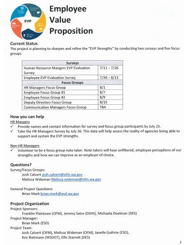employee value propositions survey