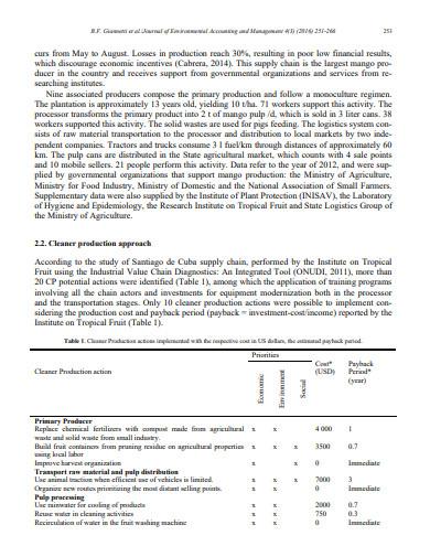 environmental accounting journal