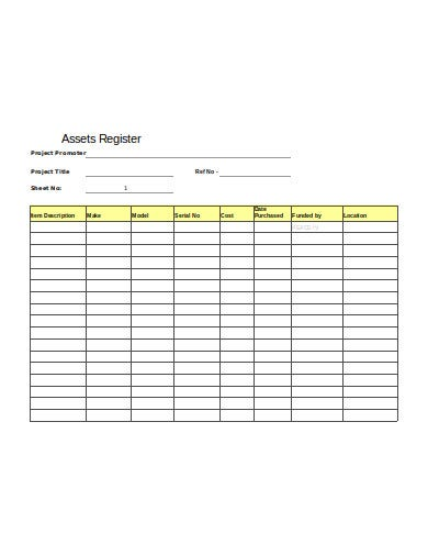 11  fixed asset register templates in pdf