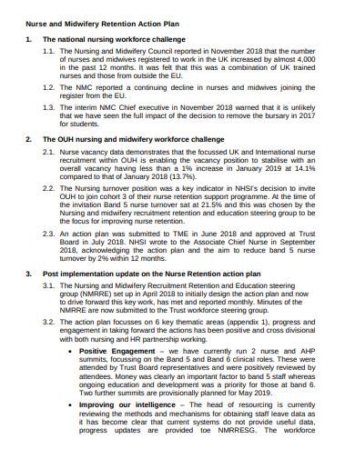 5+ Nursing Action Plan Templates in PDF | Free & Premium ...