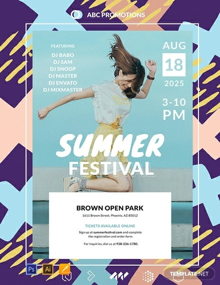 free event poster template 440x570 1