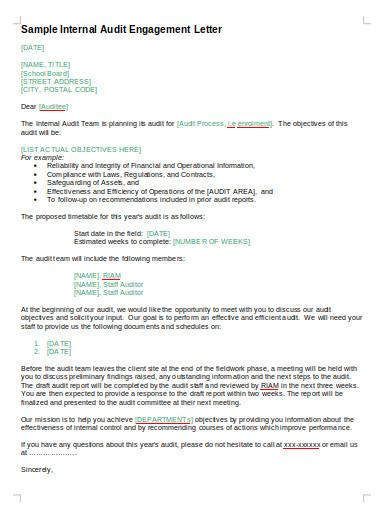 internal audit engagement letter1