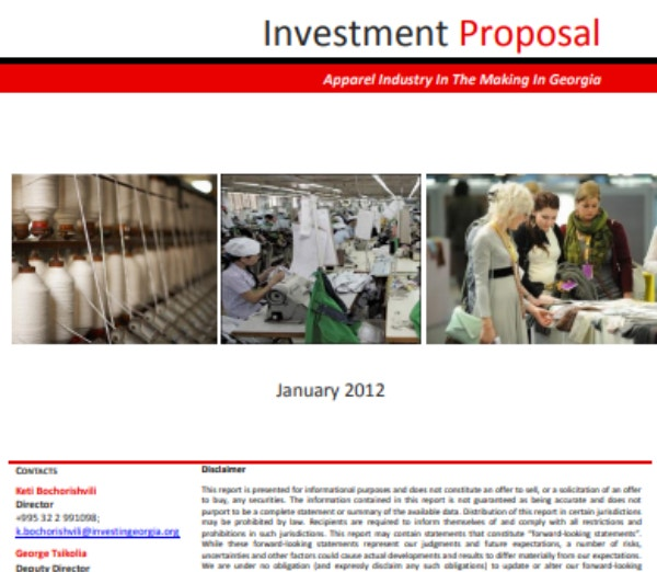 investment proposal 1