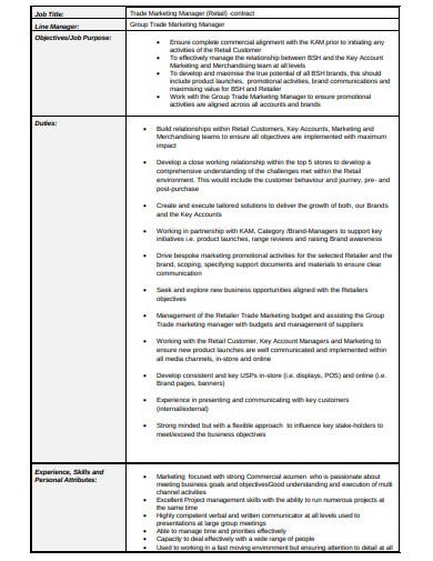 10+ Retail Contract Templates in PDF | DOC | Free ...
