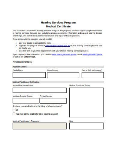 medical certificate form in pdf