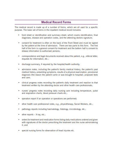 9 Medical Record Management Templates In Pdf Doc Free