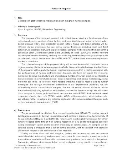 medical research proposal template