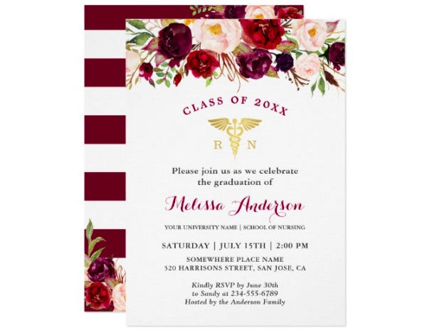 medical school party invitation template