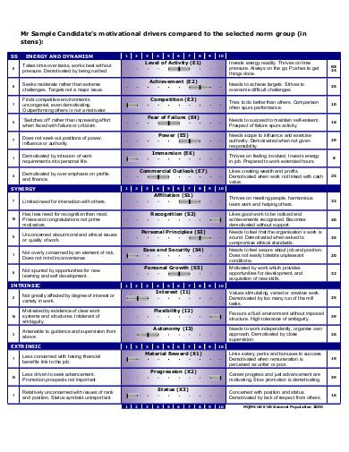 motivation questionnaire in pdf