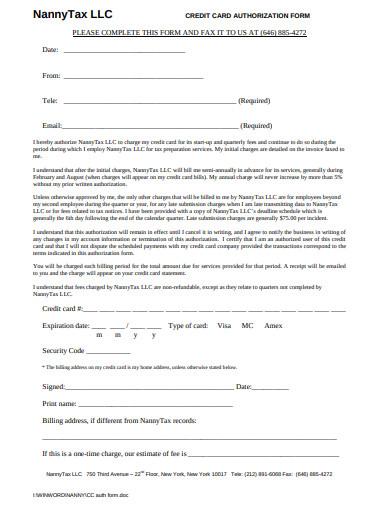 nanny tax invoice template