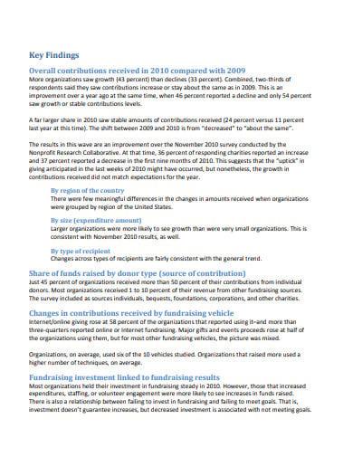 nonprofit fundraising survey template