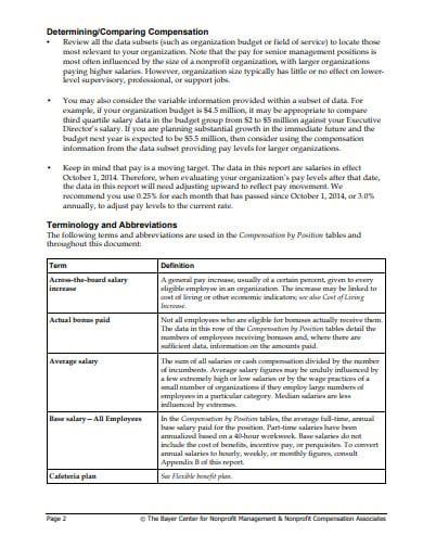 nonprofit management survey template