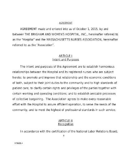 nursing contract agreement in pdf