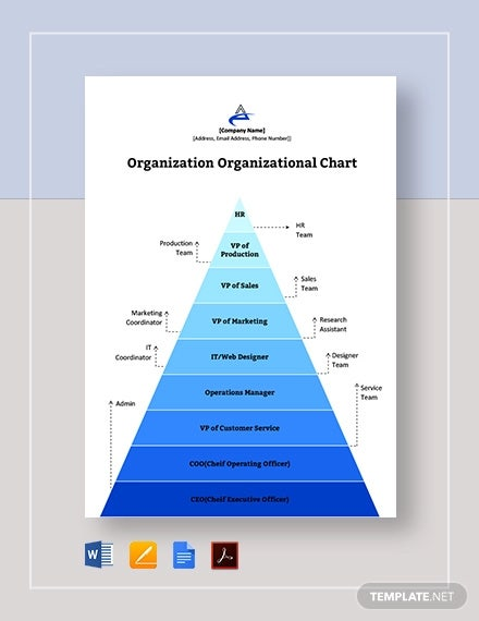 organization organizational chart template