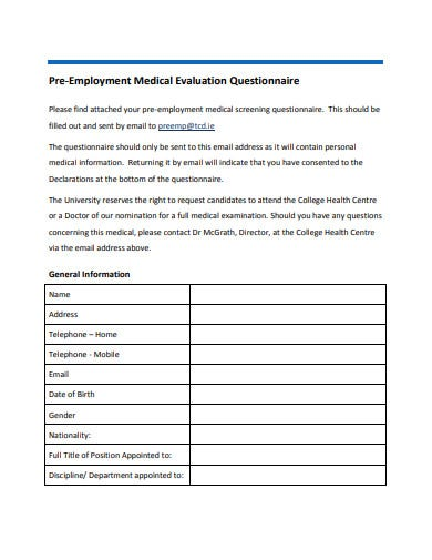 It is a graphic of Pre Employment Physical Forms Printable within physical therapy form free application