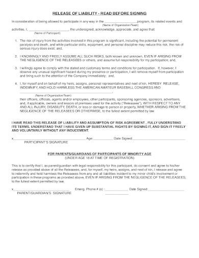 printable release of liability form in pdf