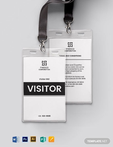 printable visitor guest id card2