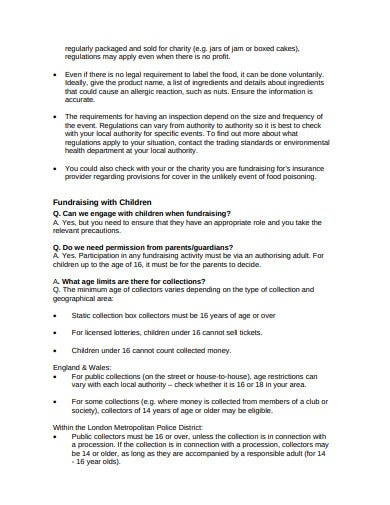professional charity risk assessment template