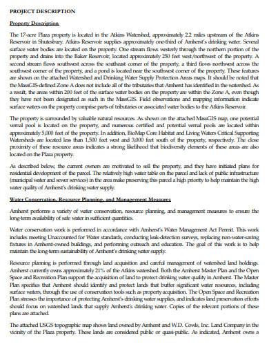project property description