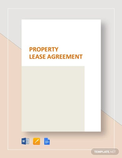 property lease agreement template1