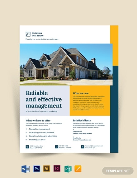 property management marketing flyer template1