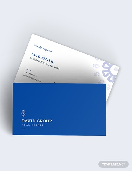 real estate business card download