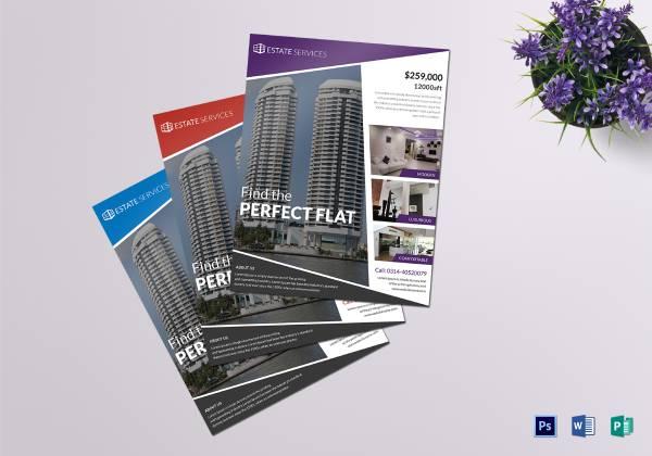 real estate flyer sample template