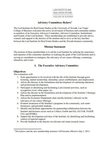 real estate mission statement template