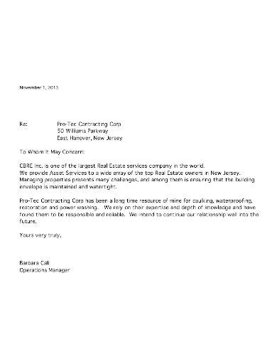 real estate reference letter in pdf