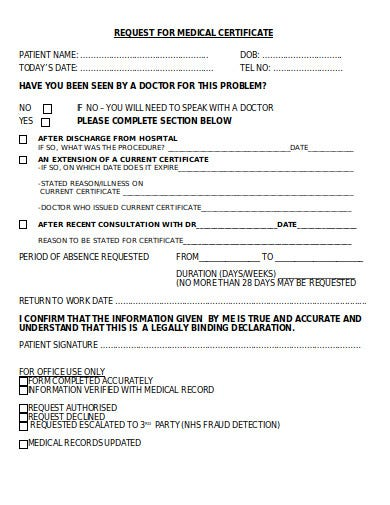 request-for-medical-certificate-form-template