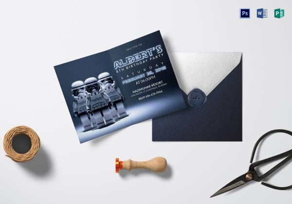 robot star wars birthday invitation card 6 25x4 1