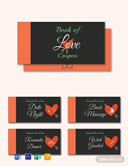 romantic love coupon book template 440x570 1