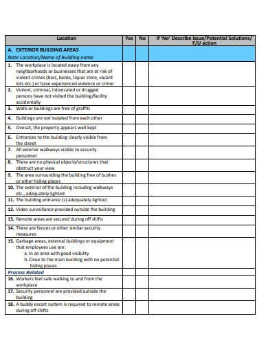 safety-and-security-assessment-checklist