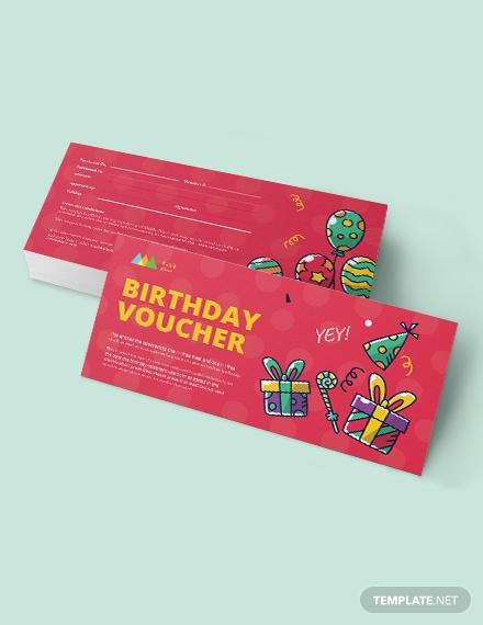 sample birthday coupon