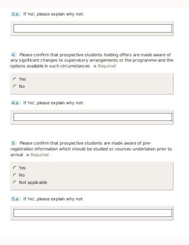sample quality assurance questionnaire template