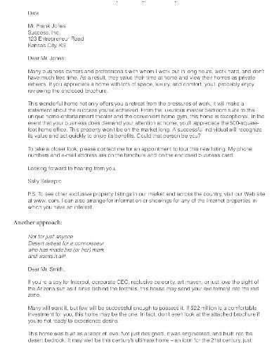 6 free real estate agent cover letter templates in pdf