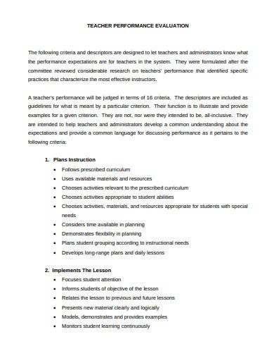 sample-teacher-performance-evaluation-template