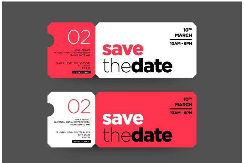 save the date invitation template 788x525