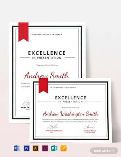 school award certificate template